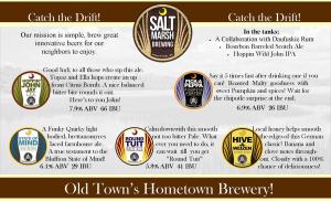 Salt Marsh Brewing Craft Beers